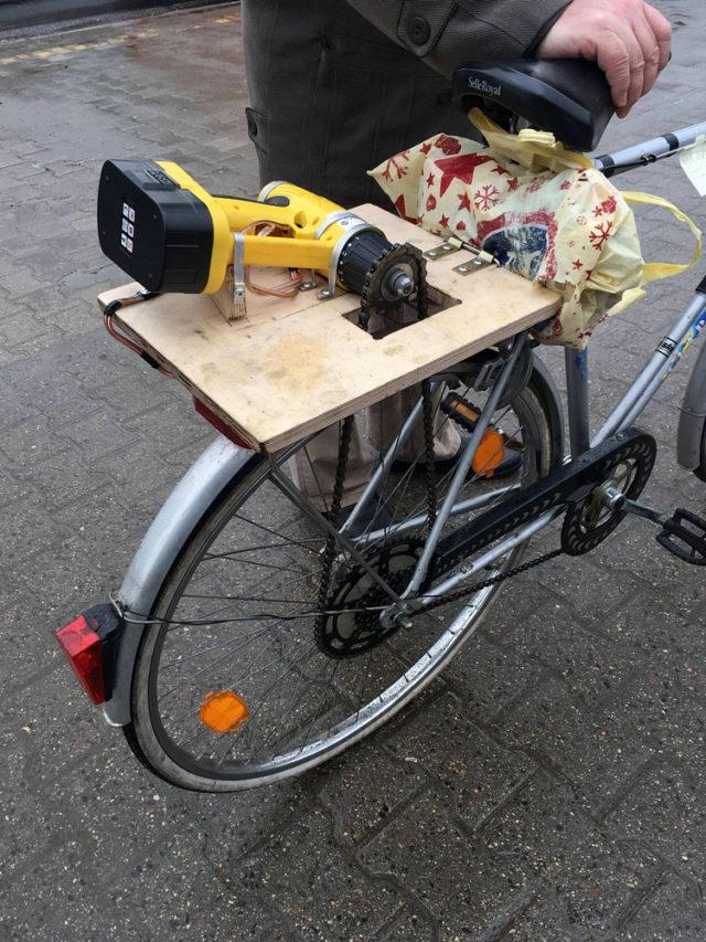Rower elektryczny wlasnej konstrukcji