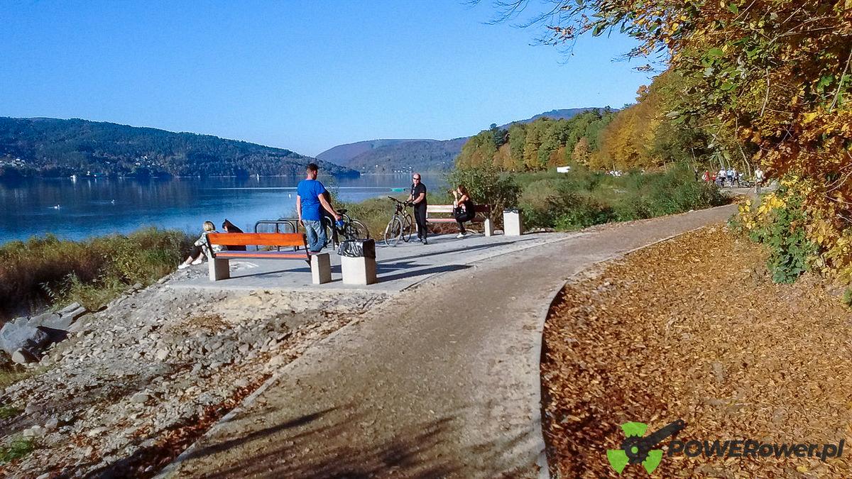 POWERower: Pętla Beskidzka na rowerze elektrycznym - Jezioro Żywieckie